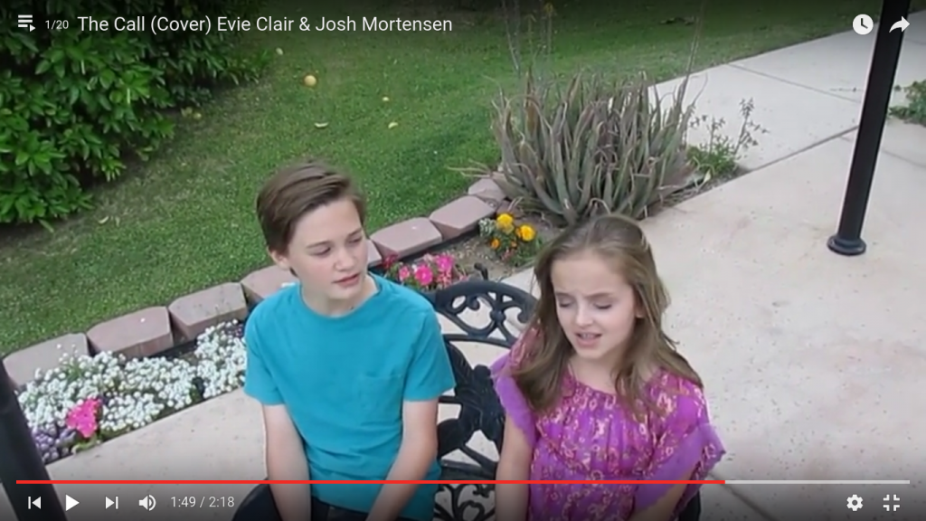 The Call (Cover) Evie Clair & Josh Mortensen