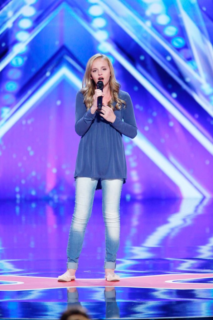 Evie Clair on America's Got Talent – Round 1