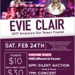 Evie Clair Concert